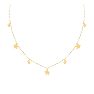 Collar de oro para mujer Perseida
