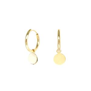 Pendientes de oro para mujer Sphere